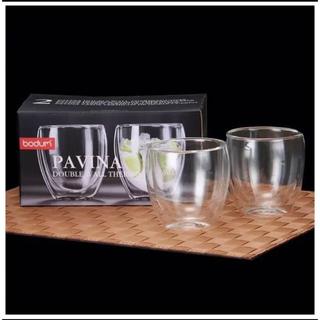 ボダム(bodum)のBodum ボダム パヴィーナ ダブルウォールグラス 2個セット0.25L(タンブラー)