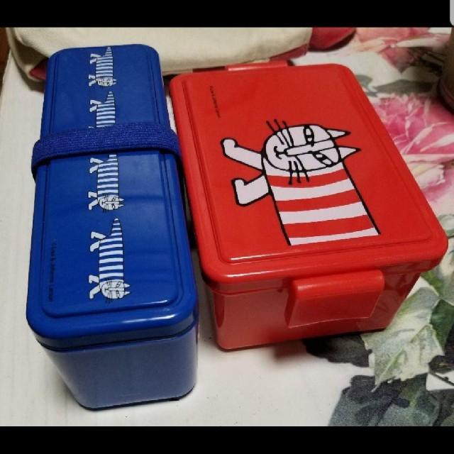 Lisa Larson(リサラーソン)のリサラーソン お弁当箱 ランチバッグ  インテリア/住まい/日用品のキッチン/食器(弁当用品)の商品写真
