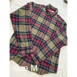 Supreme - Tartan Flannel Shirt_Medium