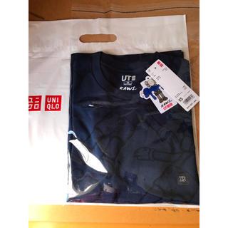UNIQLO - kaws  ユニクロ tシャツ  xs blue