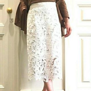 フレイアイディー(FRAY I.D)のフレイアイディー ケミカルタイトスカート FRAY I.D 武井咲(ロングスカート)