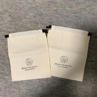 ビューティアンドユースユナイテッドアローズ(BEAUTY&YOUTH UNITED ARROWS)のショップ袋2枚セット(ショップ袋)