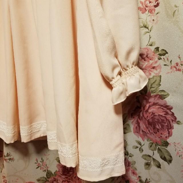 LIZ LISA(リズリサ)の大リボン チュニック ピンク 新品自宅保管 レディースのトップス(シャツ/ブラウス(長袖/七分))の商品写真