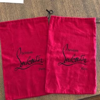 クリスチャンルブタン(Christian Louboutin)のクリスチャンルブタン  Loubotn 靴袋  2個(ショップ袋)