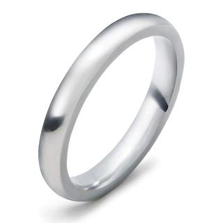 ステンレスリング3ミリ幅 アレルギー対応 レディース (18号)指輪(リング(指輪))