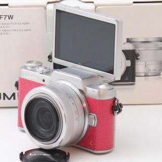 Panasonic - 自撮り&スマホ転送機能付♪人気のピンク Panasonic LUMIX GF7