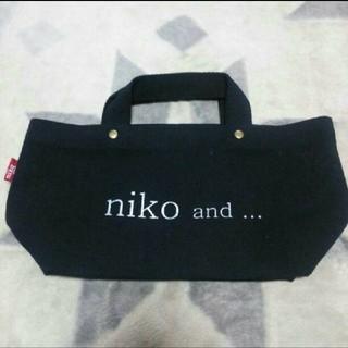 niko and... - ニコアンドの定番黒トート