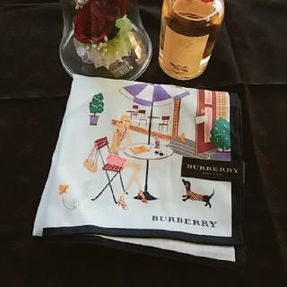 BURBERRY - BURBERRY  ハンカチ