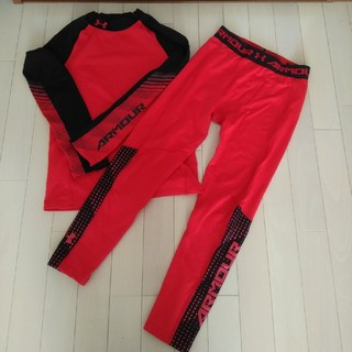 アンダーアーマー(UNDER ARMOUR)のアンダーアーマー160シャツ&スパッツ(トレーニング用品)