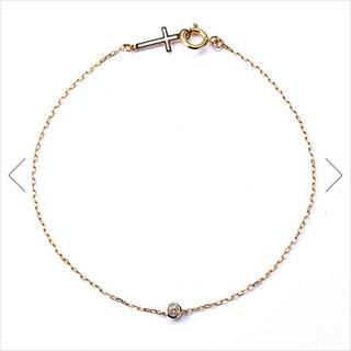エナソルーナ(Enasoluna)の美品 一粒ダイヤブレスレット(ブレスレット/バングル)