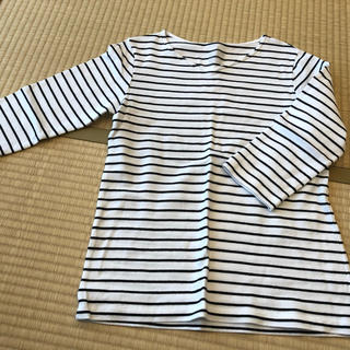 MUJI (無印良品) - 無印良品 Tシャツ ボーダーXL