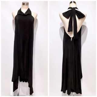 Vivienne Westwood - ヴィヴィアンウエストウッド リボン ホルターネック シルク ドレス ワンピース