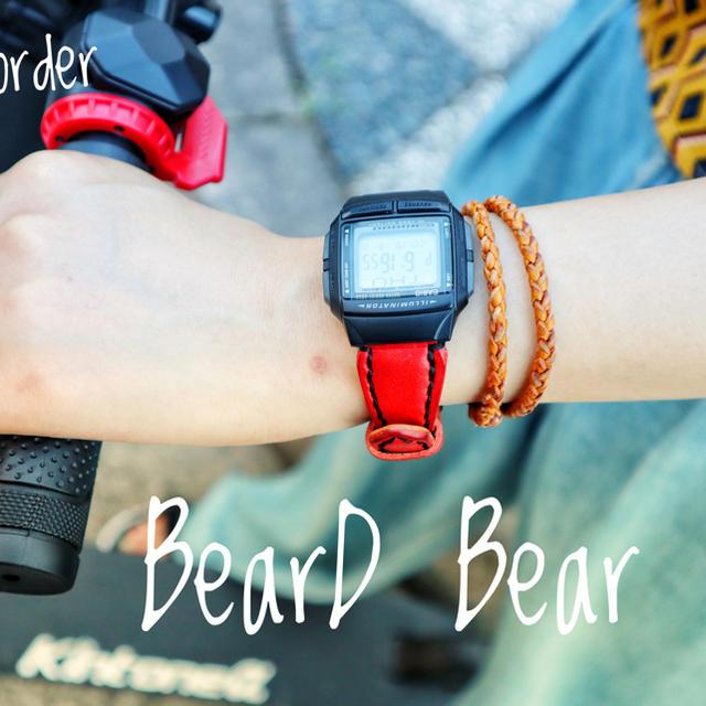 CASIO - [セミオーダー]CASIO DB-36 ×栃木レザー総手縫の通販 by Beard-Bear's shop|カシオならラクマ