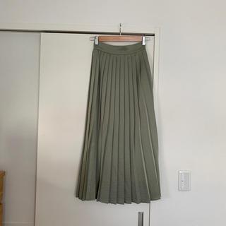 BABYLONE - サテンプリーツスカート