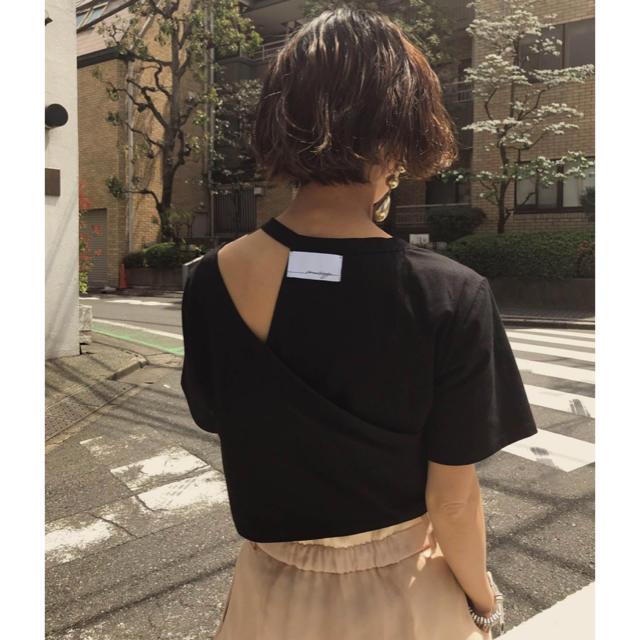 Ameri VINTAGE(アメリヴィンテージ)の正規品MY ELABORATE TEEアメリTシャツ 黒 ブラック レディースのトップス(Tシャツ(半袖/袖なし))の商品写真