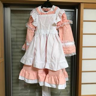 アリス ドレス 130cm 新品 袖取り外し可能(衣装一式)