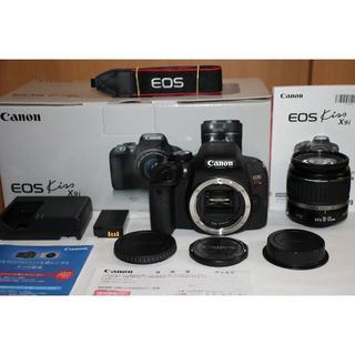 Canon - 今年6月購入品!EOS Kiss X9i/メーカー保証付・新品級!USMレンズ