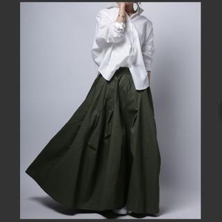 antiqua - antiqua☆ボリュームフレアロングスカート