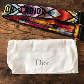 クリスチャンディオール(Christian Dior)のchristian  dior バックストラップ(ベルト)