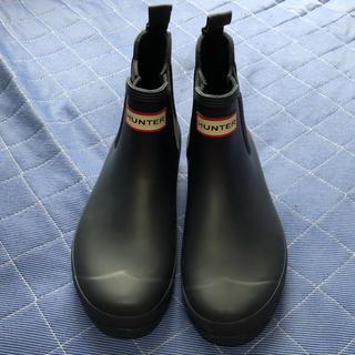 HUNTER - HUNTER ハンター レインブーツ 長靴 UK5 ネイビー