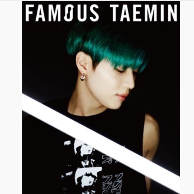 SHINee(シャイニー)のテミン FAMOUS 初回限定A エンタメ/ホビーのCD(K-POP/アジア)の商品写真
