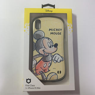 Disney - ディズニー ミッキーマウス iPhone XS Max iFace イエロー黄色
