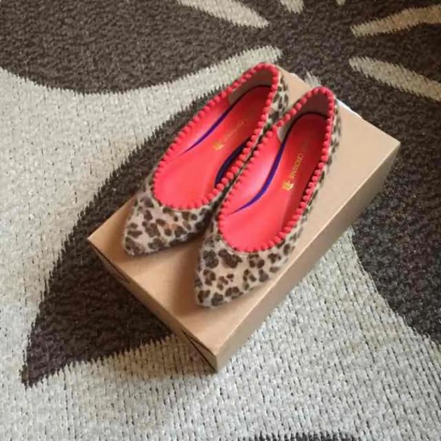 RODEO CROWNS WIDE BOWL(ロデオクラウンズワイドボウル)のヒョウ柄、パンプス レディースの靴/シューズ(ハイヒール/パンプス)の商品写真