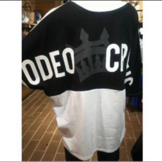 ロデオクラウンズワイドボウル(RODEO CROWNS WIDE BOWL)の一点限り**ロデオクラウンズ 関西限定 ホワイト 新品(Tシャツ(半袖/袖なし))