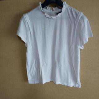 カスタネ(Kastane)のフリルブラウス風シャツ(シャツ/ブラウス(半袖/袖なし))