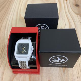 アライブアスレティックス(Alive Athletics)の◆新品未使用◆ALIVE腕時計 SCANDAL  silver(腕時計(アナログ))
