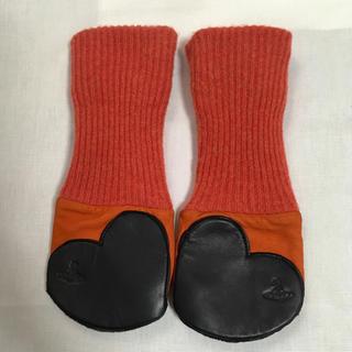 Vivienne Westwood - ヴィヴィアンウエストウッド オレンジ 手袋
