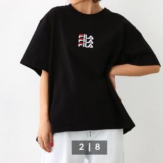 ロデオクラウンズワイドボウル(RODEO CROWNS WIDE BOWL)のTee fila(Tシャツ(半袖/袖なし))