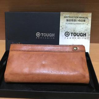 タフ(TOUGH)のタフ tough / レザーウォッシュ 長財布 未使用 限定色(長財布)