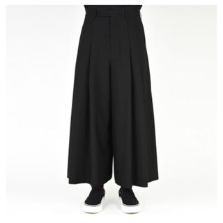 LAD MUSICIAN - 2TUCK CROPPED WIDE SLACKS   19ss