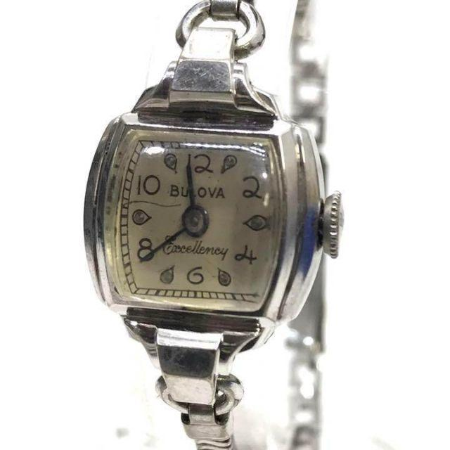 Bulova - ブローバ BULOVA 腕時計 レディース 手巻き アンティークの通販 by フォローで期間限定割引中〜|ブローバならラクマ