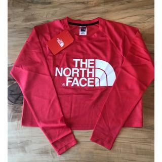 THE NORTH FACE - 【日本Mサイズ】ノースフェイス 新品未使用 タグ付き メッシュ ロンT 赤