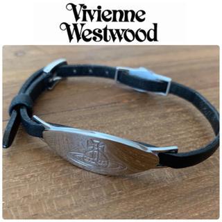 Vivienne Westwood - Vivienne Westwood オーブ 刻印 レザー ブレスレット