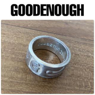 GOODENOUGH - good enough グッドイナフ  G ロゴ シルバーリング リサイズ11号