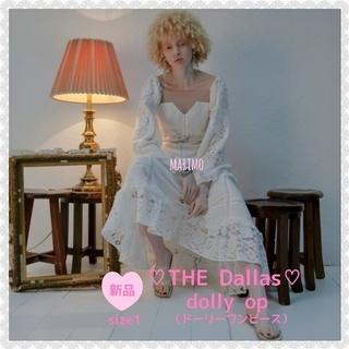 "IENA SLOBE - 【新品】♥THE Dallas・ザダラス♥""dolly op""【希少】"