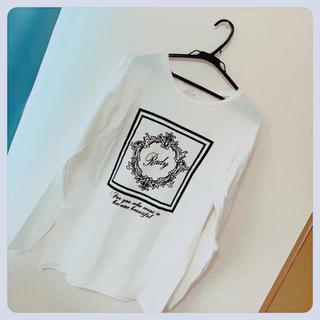 Rady - Rady ホテルシリーズTシャツ ホワイト トップス