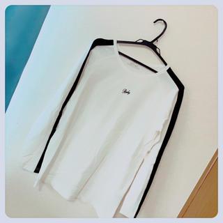 Rady - Rady サイドラインTシャツ ホワイト