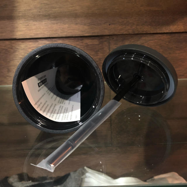 Starbucks Coffee(スターバックスコーヒー)の★ スターバックス マット ブラック コールドカップ ★海外限定モデル インテリア/住まい/日用品のキッチン/食器(タンブラー)の商品写真