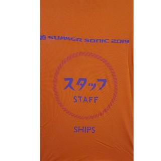 シップス(SHIPS)の非売品サマーソニック スタッフTシャツ(Tシャツ/カットソー(半袖/袖なし))