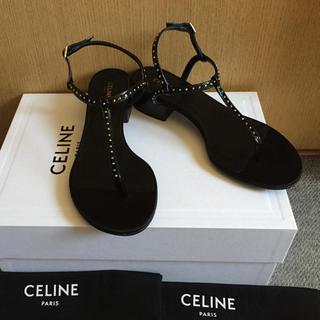 celine - 美品 正規店購入 2019SS 今季 セリーヌ サンダル 35