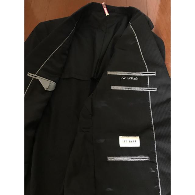 AOKI(アオキ)のスーツ ジャケット ダックグレー ストライプ 就活 アロマスーツ メンズのスーツ(スーツジャケット)の商品写真