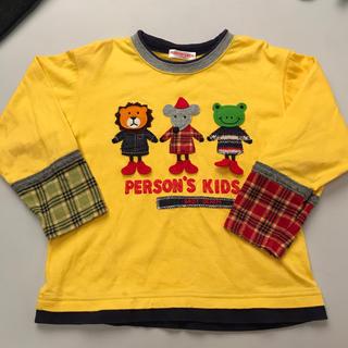 パーソンズキッズ(PERSON'S KIDS)のPERSON'S 長袖Tシャツ染みあり(Tシャツ/カットソー)