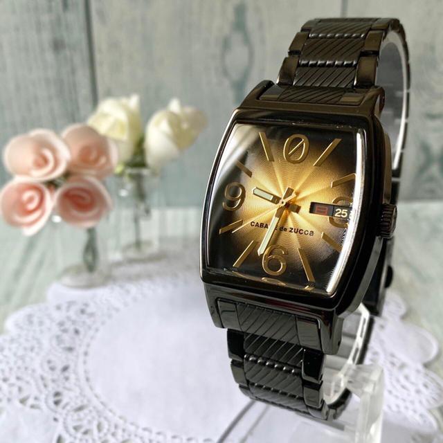 ディオール タオル バッグ | CABANE de ZUCCa - 【美品】 CABANE de ZUCCa ズッカ 7N43-0BC0 腕時計の通販 by soga's shop|カバンドズッカならラクマ
