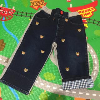 mikihouse - ミキハウス 異素材 プチプッチー パンツ 120