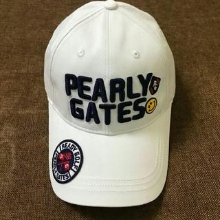 パーリーゲイツ(PEARLY GATES)の【送料無料】PEARLY GATES キャップ 帽子 ファッション(キャップ)