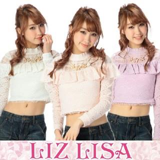 リズリサ(LIZ LISA)のLIZ LISA リズリサ トップス ANK ROUGE SNIDEL(ニット/セーター)